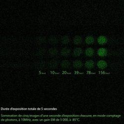 L'interet d'une caméra EMCCD en fluorescence et bioluminescence